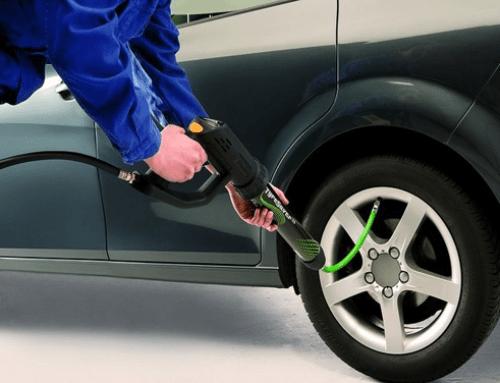 Inflado de neumáticos con nitrógeno